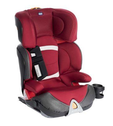 Fotelik samochodowy 15-36 kg Chicco Oasys 2/3 Fixplus EVO red passion + zabawka