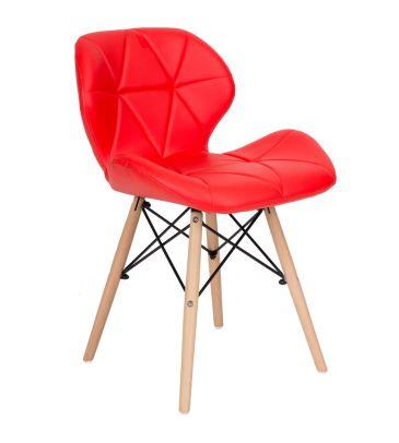 Krzesło LCN Flavio czerwone