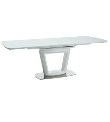 Stół rozkładany Signal Claudio II biały mat 160x90