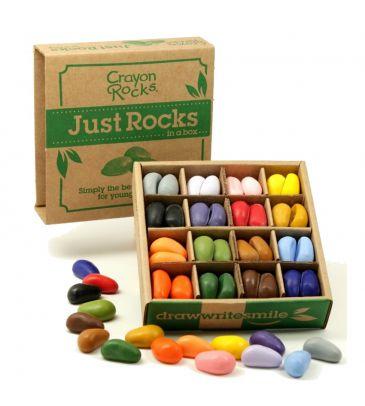 Kredki z wosku sojowego w pudełku Crayon Rocks 64szt.