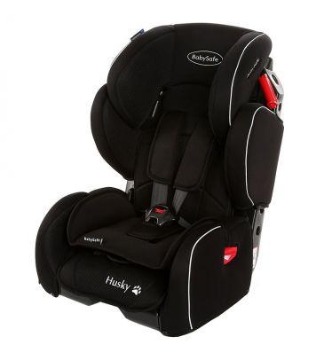 Fotelik samochodowy 9-36 kg Babysafe Husky black