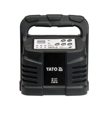 Prostownik elektroniczny 12V 15A 6-200Ah YATO YT-8303