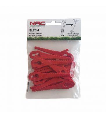 Nożyki zamienne NAC  BL20-LI do podkaszarki