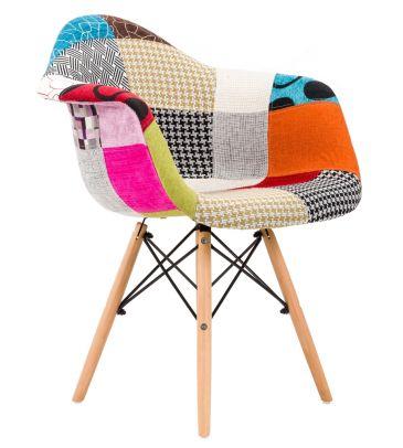 Krzesło patchwork FCS Sato 15