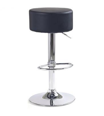 Krzesło barowe Halmar H23 czarne