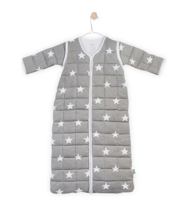 Śpiworek z rękawami Jollein 90 cm Little Star 016-541-64966 szary