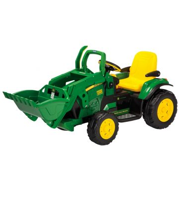Koparka na akumulator 12V Peg Perego John Deere Ground Loader IGOR 0068