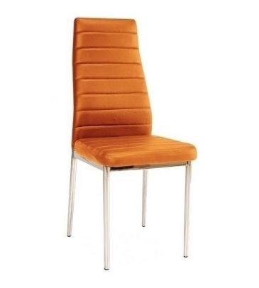 Krzesło Signal H-261 pomarańczowe/chrom