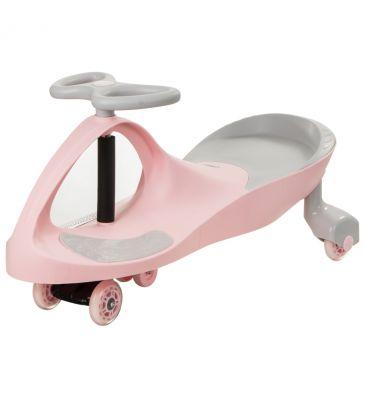 Jeździk TwistCar pastelowy różowy