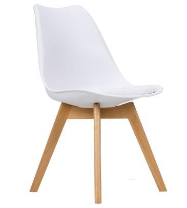 Krzesło skandynawskie FCS Loro białe