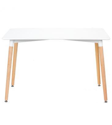 Stół prostokątny FCS Litos 120x80 biały