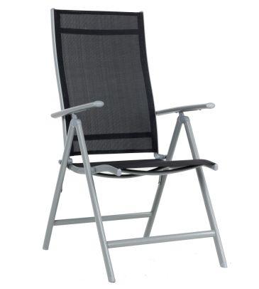 Fotel 7-pozycyjny stalowy MODERNO