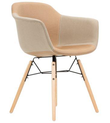 Krzesło patchwork TDF  Frego 04
