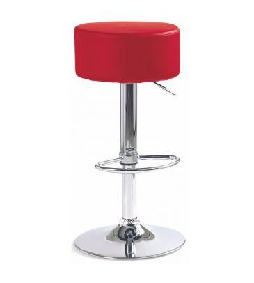 Krzesło barowe Halmar H23 czerwone