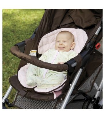 Wkładka do wózka Sunshine Kids Kids Soft Ride 30180 pink/brown