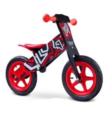 Rowerek biegowy Toyz Zap black/red
