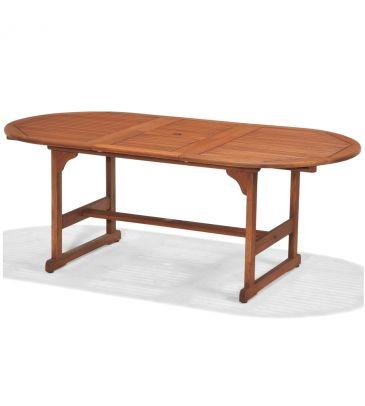 Stół rozkładany owalny CORK 150-200x100