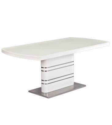 Stół rozkładany Signal Gucci biały 180x90