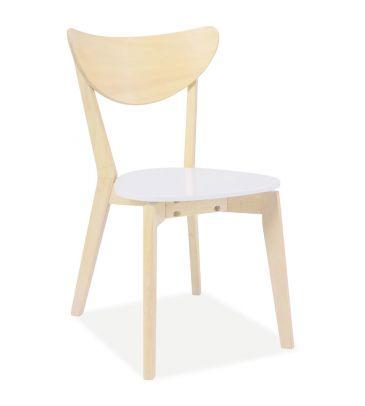 Krzesło Signal CD-19 biały/dąb bielony