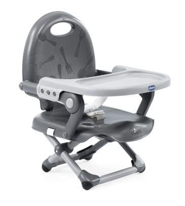 Przenośne krzesełko do karmienia Pocket Snack dark grey