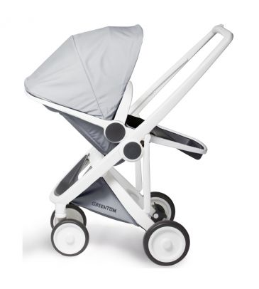 Wózek spacerowy Greentom UPP Reversible A+B+D white/grey