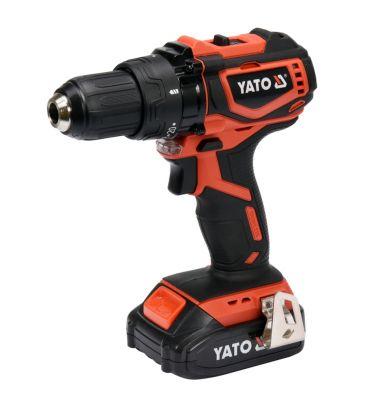 Wiertarko-wkrętarka akumulatorowa 18V YATO YT-82794 z silnikiem bezszczotkowym