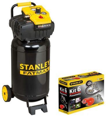 Kompresor bezolejowy 50L Stanley FATMAX TAB200/10/50 8117260STF506 (STP306) z akcesoriami