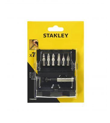 Zestaw akcesoriów do wkręcania 6 szt. Stanley STA60480-XJ