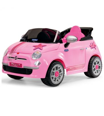 Pojazd na akumulator 6V sterowany pilotem Peg Perego Fiat 500 S Pink IGED 1174