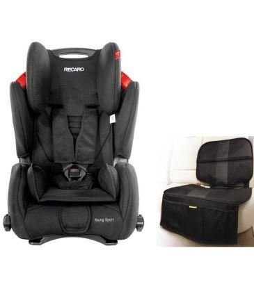 Fotelik samochodowy 9-36 kg Recaro Young Sport black + MATA