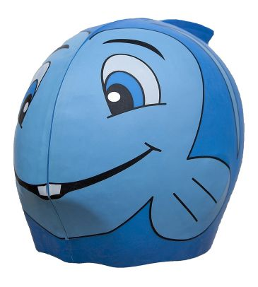 Czepek kąpielowy Swimfin niebieski