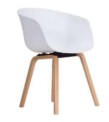 Krzesło LCN BOVO białe