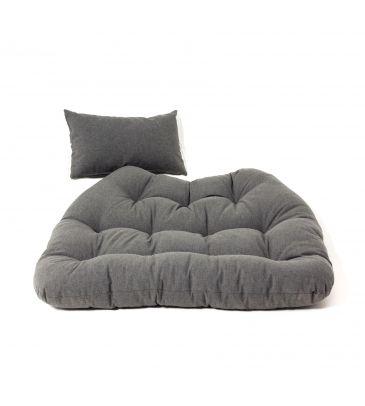 Poduszka na fotel podwieszany - PRIMA GRAFIT