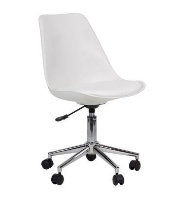Fotel obrotowy MSH Allure białe