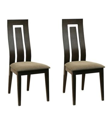 Komplet krzeseł 2szt. Forte Hitch KR0058-196-FBLC