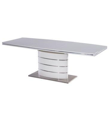 Stół rozkładany Signal Fano biały 180x100