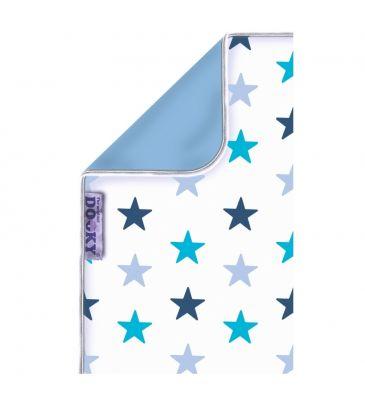 Kocyk Dooky blue stars