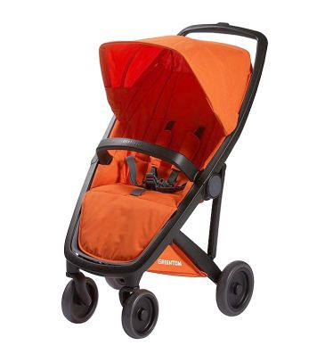 Wózek spacerowy Greentom UPP Classic A+F black/orange