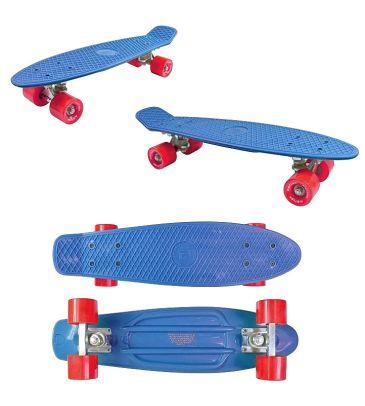 Deskorolka Kidzmotion Deckboard 22' niebieska
