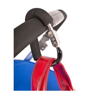 Zabezpieczenie do wózka z zamkiem szyfrowym My Buggy Buddy Lock