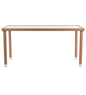 Stół ogrodowy MILANO jasny