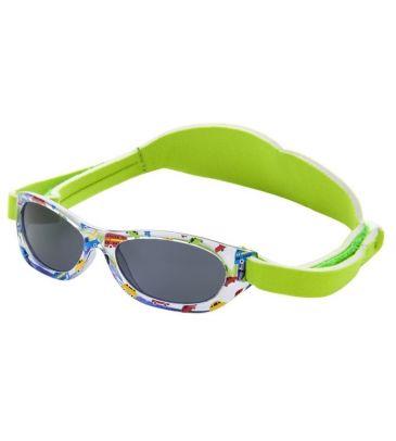 Okulary przeciwsłoneczne Kiddus Baby KI30222 green cars