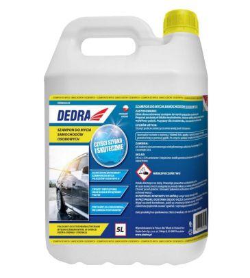 Szampon do mycia samochodów osobowych DEDRA DED8823A2 5L