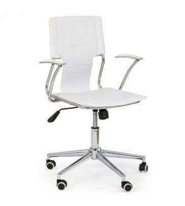 Fotele obrotowe Halmar Derby biały