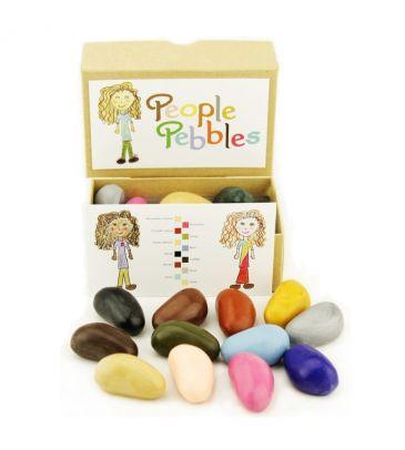 Kredki z wosku sojowego Crayon Rocks People Pebbles 12 kolorów