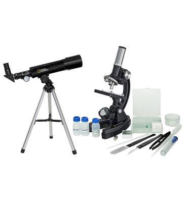 Zestaw teleskop i mikroskop Bresser National Geographic BRTL91180000