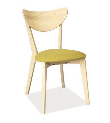 Krzesło Signal CD-37 dąb bielony/zielony