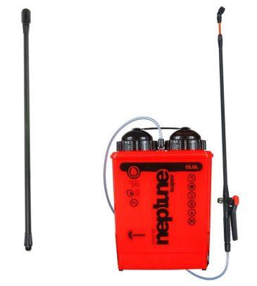 Opryskiwacz plecakowy  KWAZAR Neptun Super New V-15 7903 z przedłużką