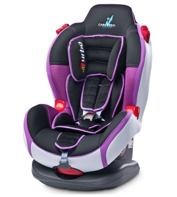 Fotelik samochodowy 9-25 kg Caretero Sport Turbo purple