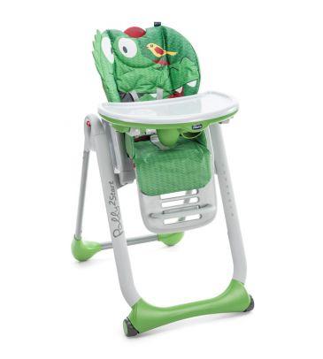 Krzesełko do karmienia Chicco Polly 2 START crocodile